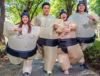 台灣虎航相撲路跑 Sumo Run